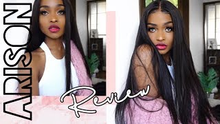 ARISON HAIR REVIEW | The Quick Lazy Method for a Sleek Straight Look!
