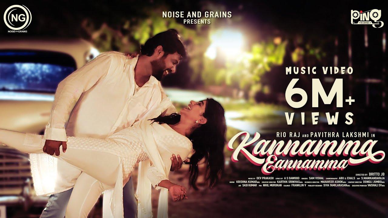 Download Kannamma Eannamma Music Video   Rio raj   Pavithralakshmi   Bala   Britto   Sam Vishal