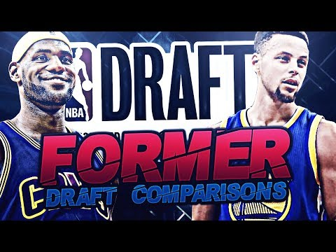 NBA ALL STARS DRAFT COMPARISONS!