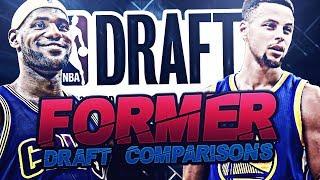 NBA ALL STARS DRAFT COMPARISONS!
