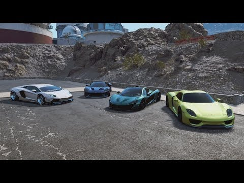 NFS Payback | Super/Hypercar Meet w/ LW Aventador, P1, 918, Ford GT, & Regera ft. Bagged Gang