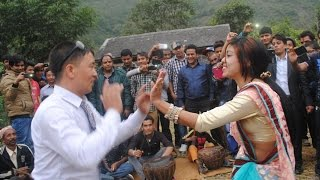बाफ रे बाफ! खतरा दोहोरि नाच Panche baja dance at wedding of ramu kharel gulmi aanpchour
