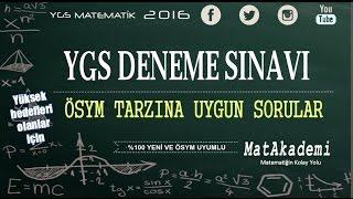 2015 YGS Deneme Sınavı Çözümleri - Son Sınav Taktiği