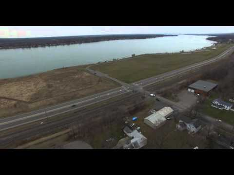 Drone flight North Tonawanda HD