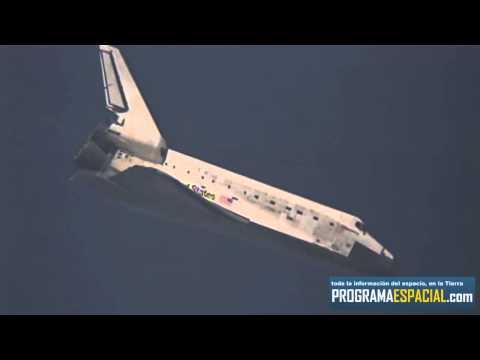 Aterrizaje STS-131 Discovery - Transmisión EXCLUSIVA programaespacial.com (HD)