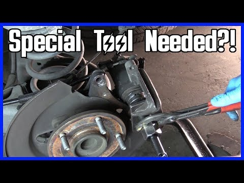 How to Replace Rear Brakes Dodge Grand Caravan | Sizes and Torque Specs!