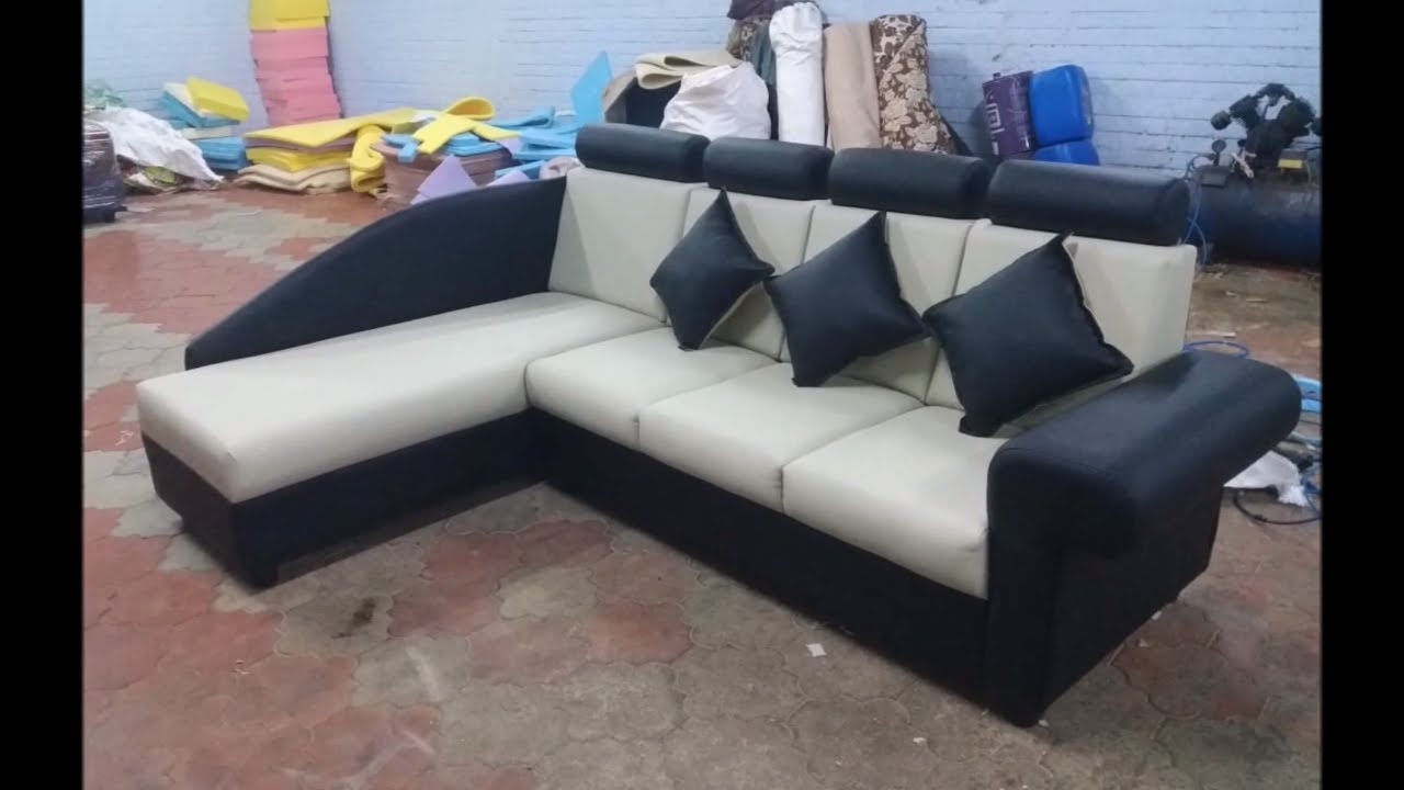 New Model Sofa Set Designs | Leather Sofa Model from our Unit | Living Room  Sofa | KGS Interior