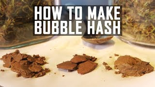 How To Make Bubble Hash (Ice Water Cannabis Concentrate): Cannabasics #41