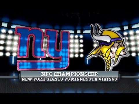 Season 3 - NFC Championship: New York Giants vs Minnesota Vikings