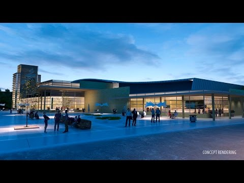 City of Spruce Grove Multi-Use Sport and Event Centre Concept as part of Westwind Centre