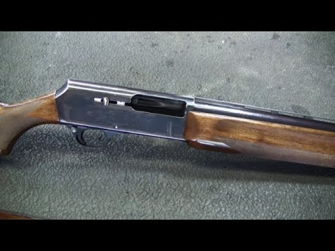 Browning Model 2000 Shotgun Gas Piston Disassembly