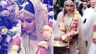 Anushka Sharma gets emotional on her Bidaai | Virat Kohli Anushka Wedding