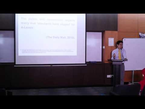 Teachers' forum 2016 (24.2.16) - Onn Chee Sheng - Standardised Marking for A-Level Chemistry