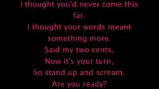 Three days grace - are you ready? with lyrics