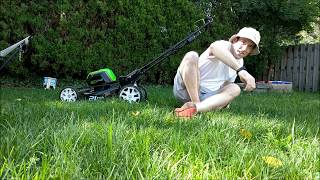 Greenworks 80v Pro 21-inch mower review