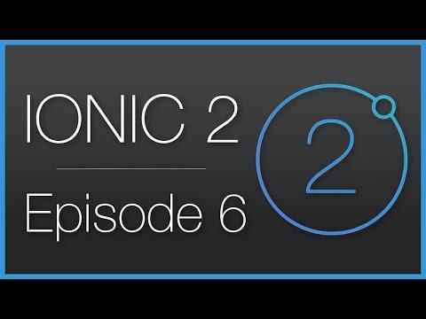Ionic 2 • Integration and usage of a web-service (API) • Épisode 6