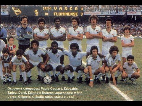 Campeonato Carioca 1980: Fluminense x Vasco (partida final ...