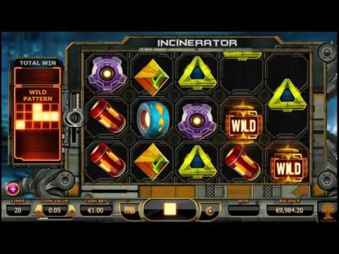 Как играть в игровой автомат Incinerator. Обучающее видео.