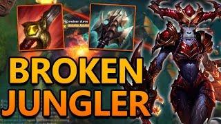 ANOTHER BROKEN JUNGLER? SHYVANA JUNGLE - League of Legends Commentary