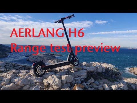 AERLANG H6 - Range Test GPS Trace