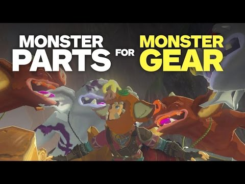 Trade Monster Parts for Awesome Gear - Zelda: Breath of the Wild