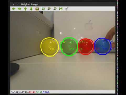 Multiple Object Detection with Color Using OpenCV