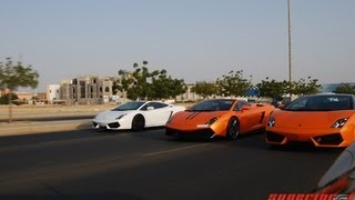 Lamborghini Club Cruise Jeddah, KSA