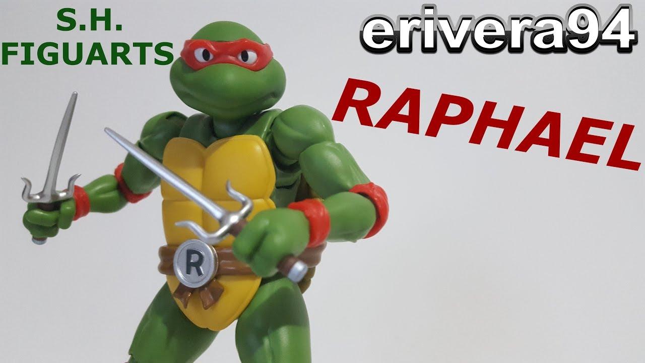 S.H. Figuarts Raphael Figure Review Teenage Mutant Ninja Turtles TMNT