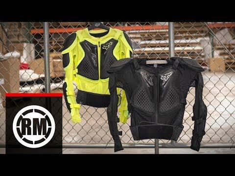 Fox Racing Titan Sport Motocross Jacket Body Armor