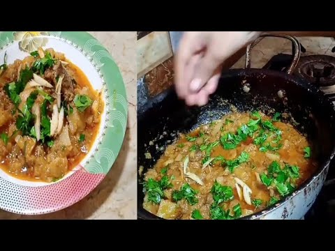 shaljam gosht recipe l out standing recipe mutton and red reddish curry