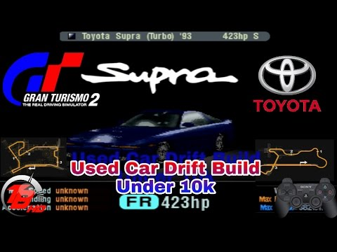 Gran Turismo Used Car Drift Build Under Toyota Supra