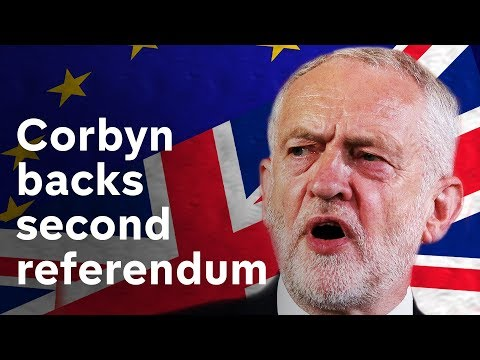 Labour moves to back second Brexit vote