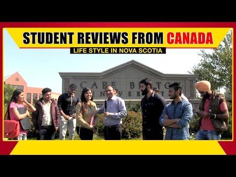 Canada Student Visa - Lifestyle in Novascotia & CBU