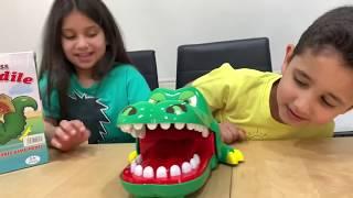 تحدي لعبة التمساح مع تروكي 🐊