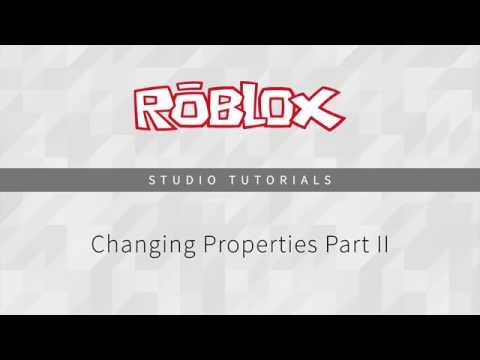 Command Line Scripting: Changing Properties
