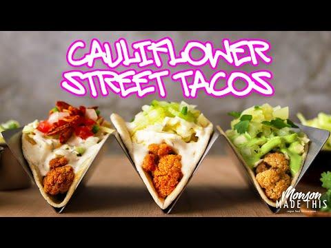 Easy Vegan Cauliflower Tacos: 3 Ways | Buffalo + Teriyaki + BLT ( Plant Based + Gluten Free Option)