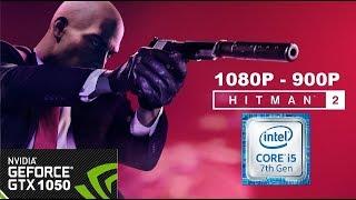 Hitman 2 on GTX 1050 - I5 7500