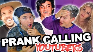 PRANK CALLING PEOPLE BUT WE CAN'T HEAR THEM
