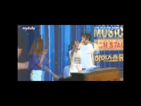 High School Musical Public Rehearsal - Jaejin & Luna