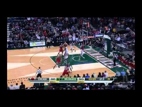 NBA CIRCLE - Chicago Bulls Vs Milwaukee Bucks Highlights 13 Dec. 2013 www.nbacircle.com