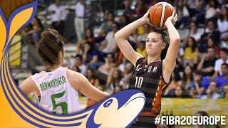 Portugal v Belgium - Full Game - Round of 16 - FIBA U20 Women's European Championship 2017 thumbnail