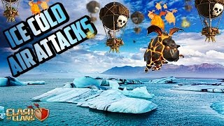 CLASH OF CLANS-ICE COLD AIR ATTACKS-TH10&9