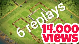 AWASOME TH8 FARMING BASE HOME WITH 6REPLAYS LINK IN DESCRIPTION