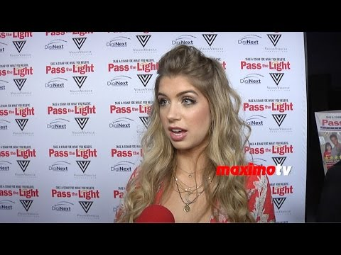 Allie DeBerry Interview | Pass the Light Premiere | Red Carpet