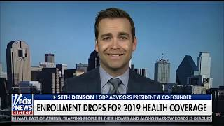 Enrollment drops for 2019 health coverage