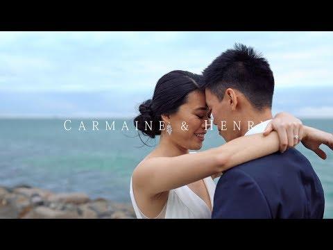 Carmaine & Henry Wedding Video // Sandringham Yacht Club // Door Games