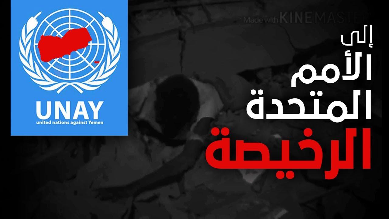 من اليمن الى الأمم المتحدة ضدنا | زامل أنصار الله