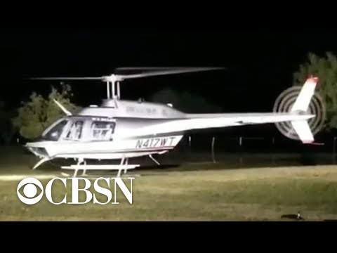 Texas newlyweds reportedly killed in helicopter crash after wedding
