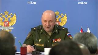 Russia's Ministry of Foreign Affairs and Ministry of Defence hold joint press briefing (eng 1:04)