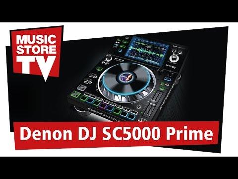 DENON DJ SC5000 Prime Media Player Demo im MUSIC STORE